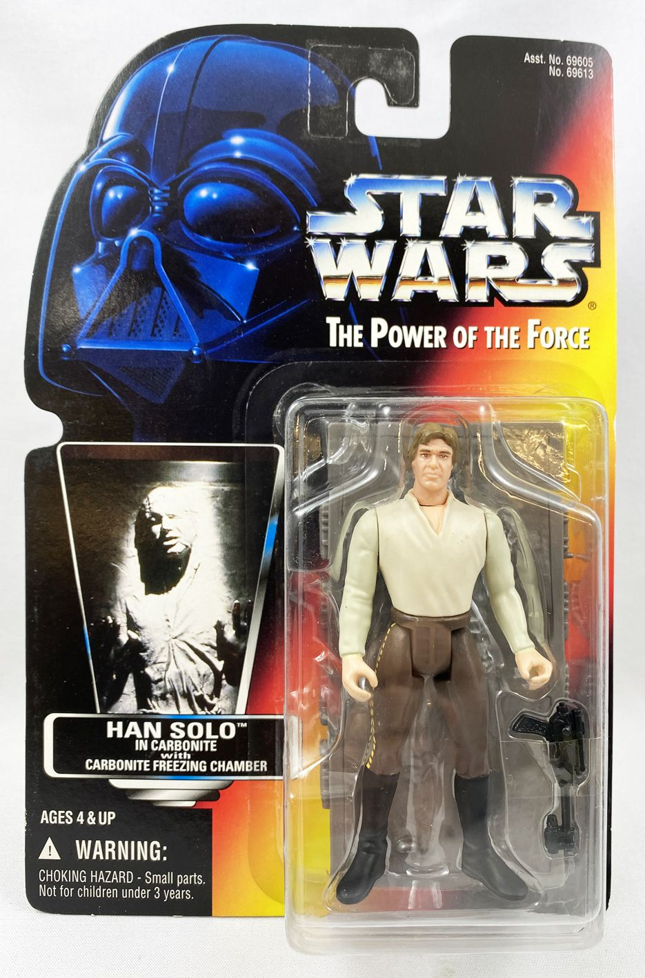 Star Wars (The Power of the Force) - Kenner - Han Solo in Carbonite