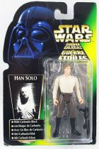 Star Wars (The Power of the Force) - Kenner - Han Solo with Carbonite Block