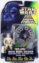 Star Wars (The Power of the Force) - Kenner - Hith Rebel Soldier (Deluxe) with Anti-Vehicle Laser Cannon
