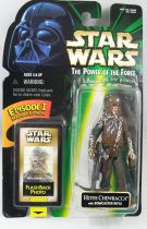 Star Wars (The Power of the Force) - Kenner - Hoth Chewbacca w/ Bowcaster Rifle (Flashback)