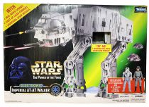 Star Wars (The Power of the Force) - Kenner - Imperial AT-AT Walker (with AT-AT Commander & AT-AT Driver)