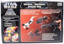 Star Wars (The Power of the Force) - Kenner - Imperial Speeder Bike with Biker Scout