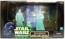 Star Wars (The Power of the Force) - Kenner - Jedi Spirits : Anakin, Yoda, Obi-Wan