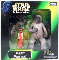 Star Wars (The Power of the Force) - Kenner - Kabe & Muftak