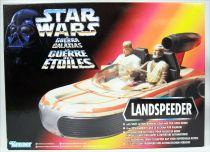 Star Wars (The Power of the Force) - Kenner - Landspeeder (Box Fr.)