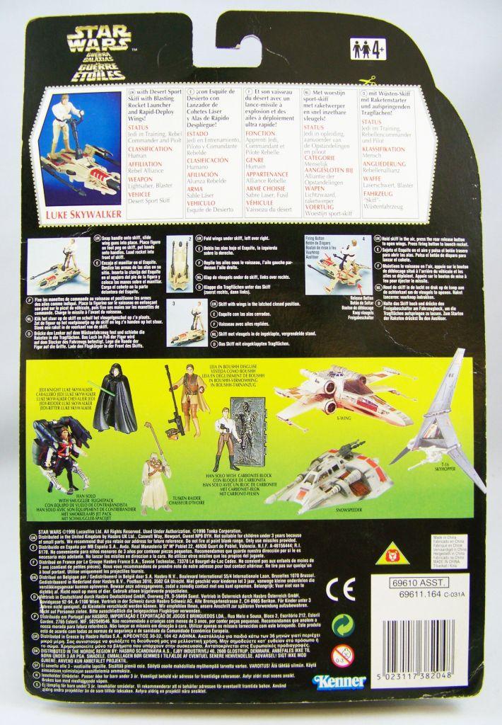 Star Wars (The Power of the Force) - Kenner - Luke Skywalker (Deluxe) 02