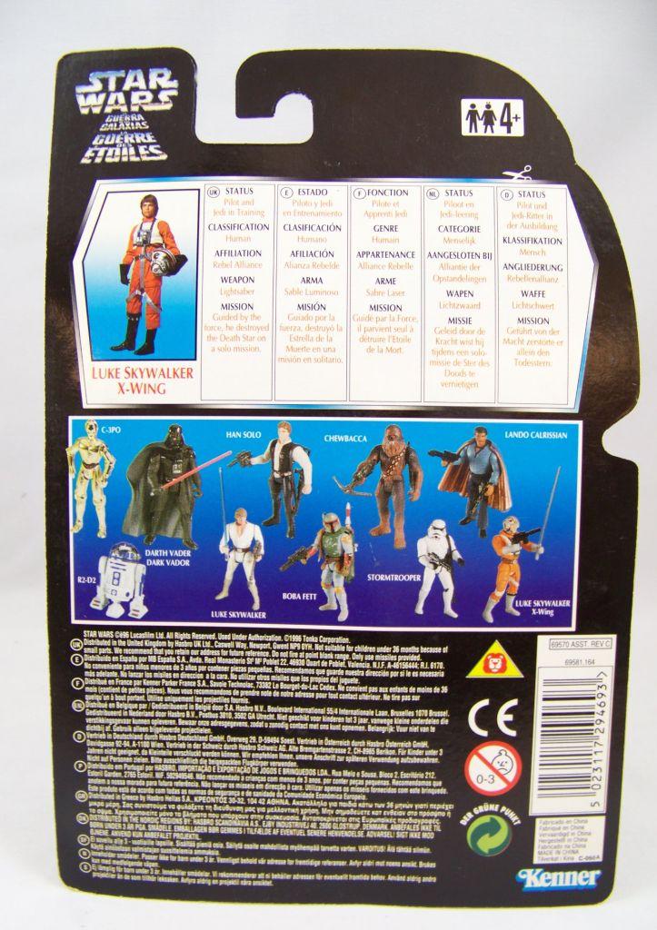 Star Wars (The Power of the Force) - Kenner - Luke Skywalker (in X-Wing Pilot Gear) 02