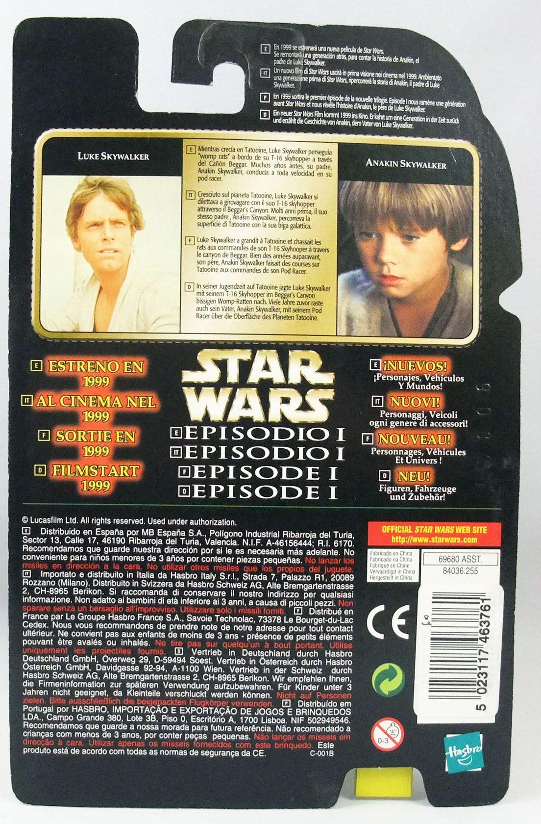 Star Wars (The Power of the Force) - Kenner - Luke Skywalker w/Blaster Rifle & Binoculars (Flashback)