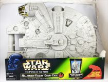 Star Wars (The Power of the Force) - Kenner - Millennium Falcon Carry Case (w/Imperial Scanning Crew Trooper)