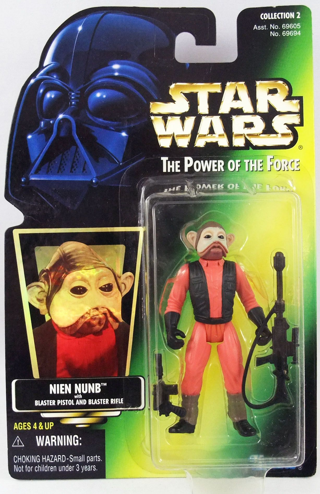 Star Wars (The Power of the Force) - Kenner - Nien Nunb