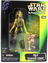 Star Wars (The Power of the Force) - Kenner - Oola & Salacious Crumb