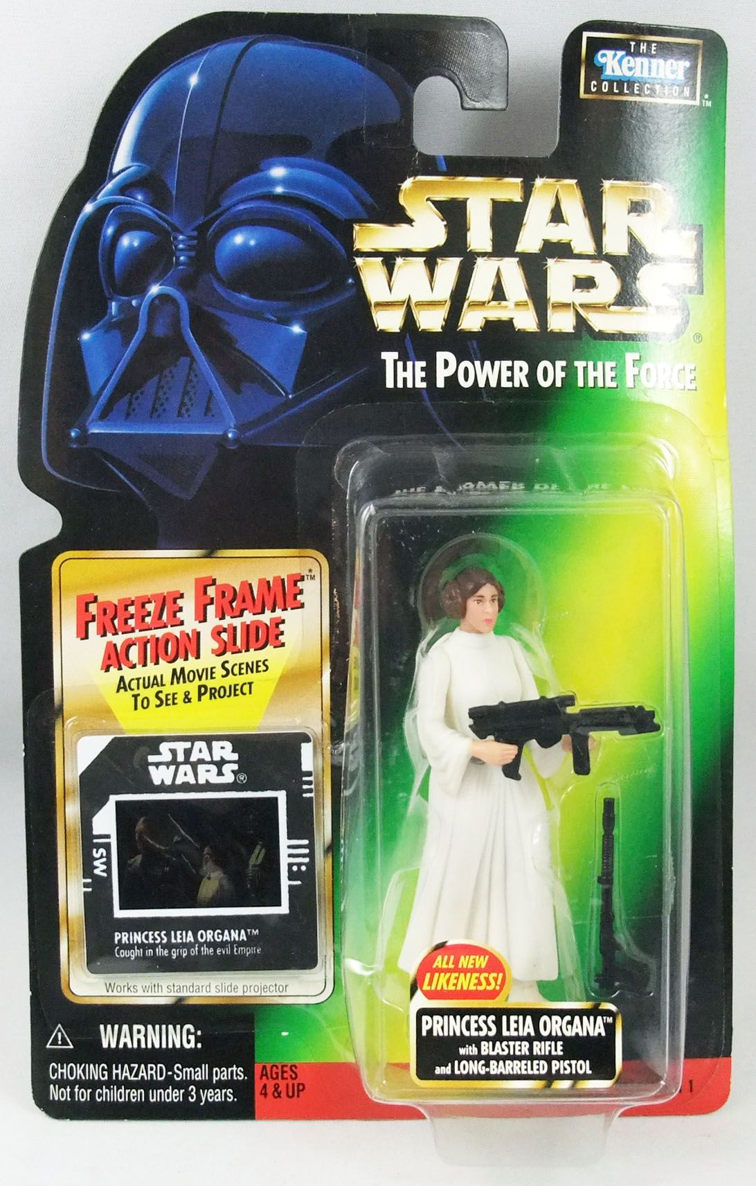 Star Wars (The Power of the Force) - Kenner - Princess Leia Organa (New Likeness)