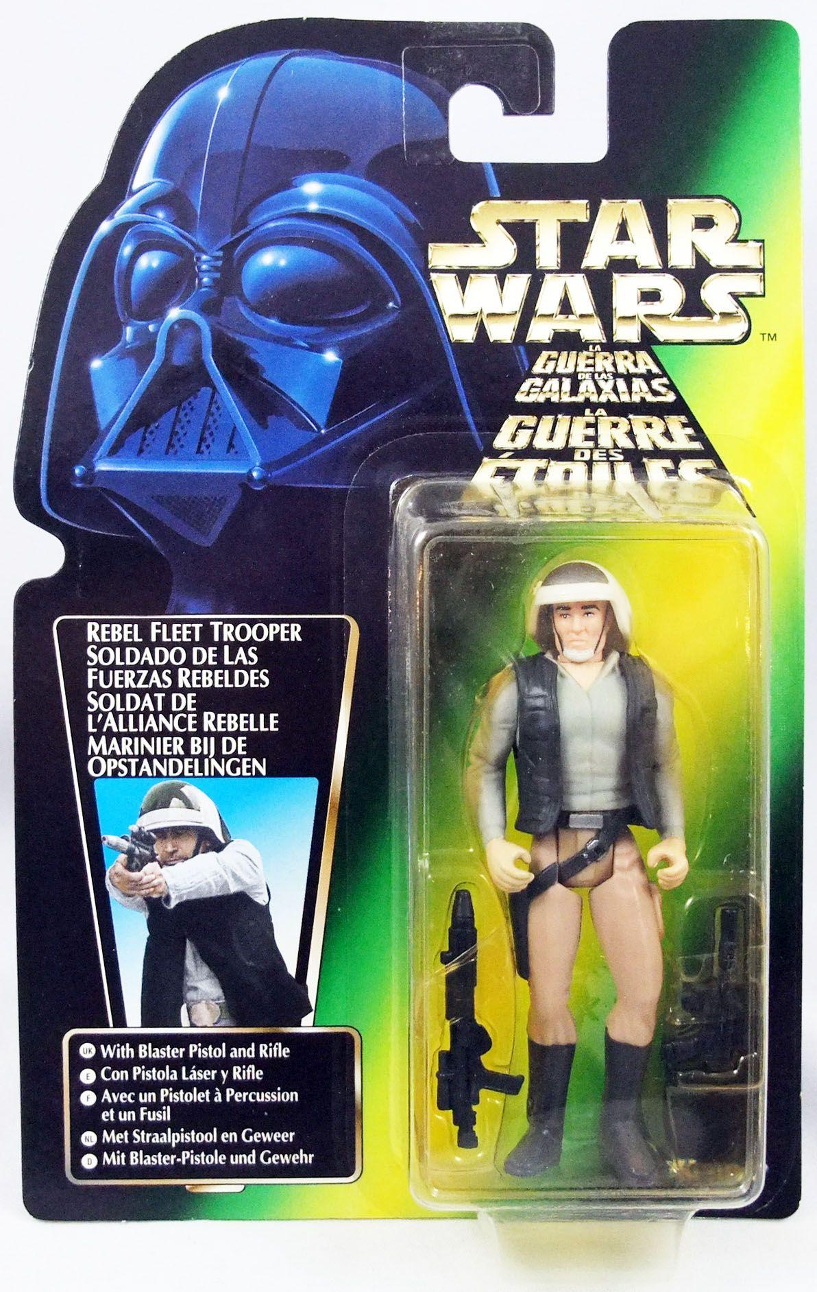 Star Wars (The Power of the Force) - Kenner - Rebel Fleet Trooper