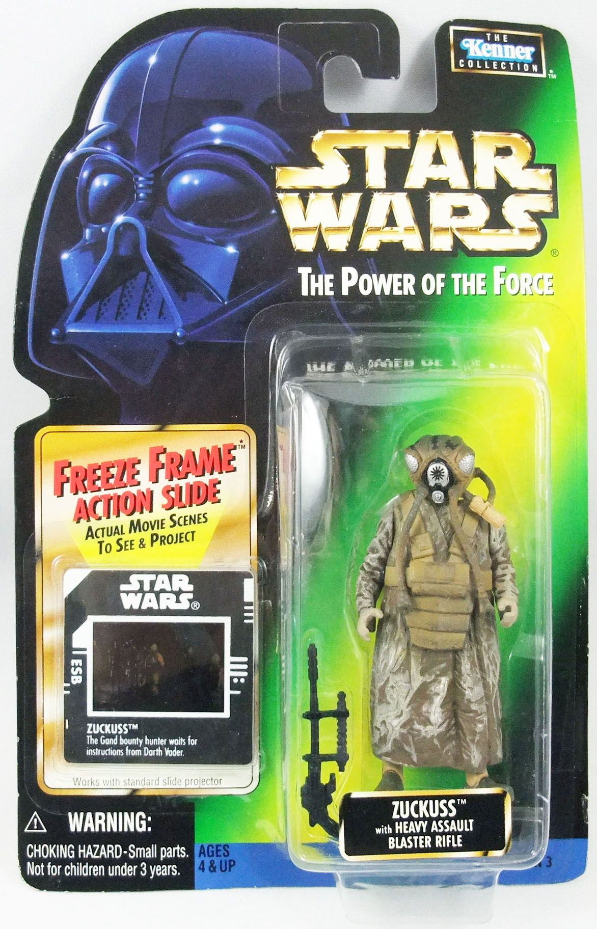 Star Wars (The Power of the Force) - Kenner - Zuckuss