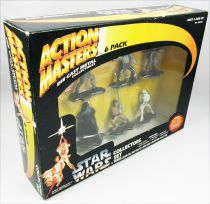 Star Wars (The Power of the Force) Die Cast metal Collectibles - Kenner - Action Masters 6-pack