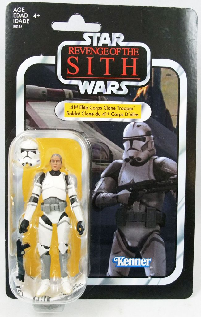 Star Wars (The Vintage Collection) - Hasbro - 41st Elite Corps Clone Trooper - Revenge of the Sith