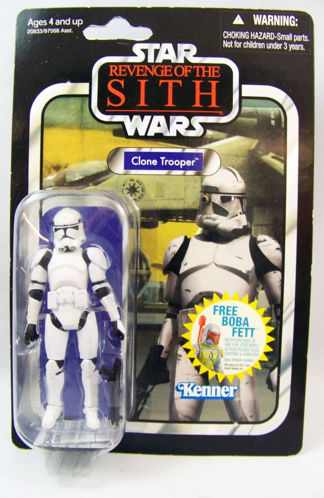 Star Wars (The Vintage Collection) - Hasbro - Clone Trooper - Revenge of the Sith