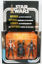 Star Wars (The Vintage Collection) - Hasbro - Doctor Aphra Comic Set : BT-1 (BeeTee), 0-0-0 (Triple Zero), Doctor Aphra