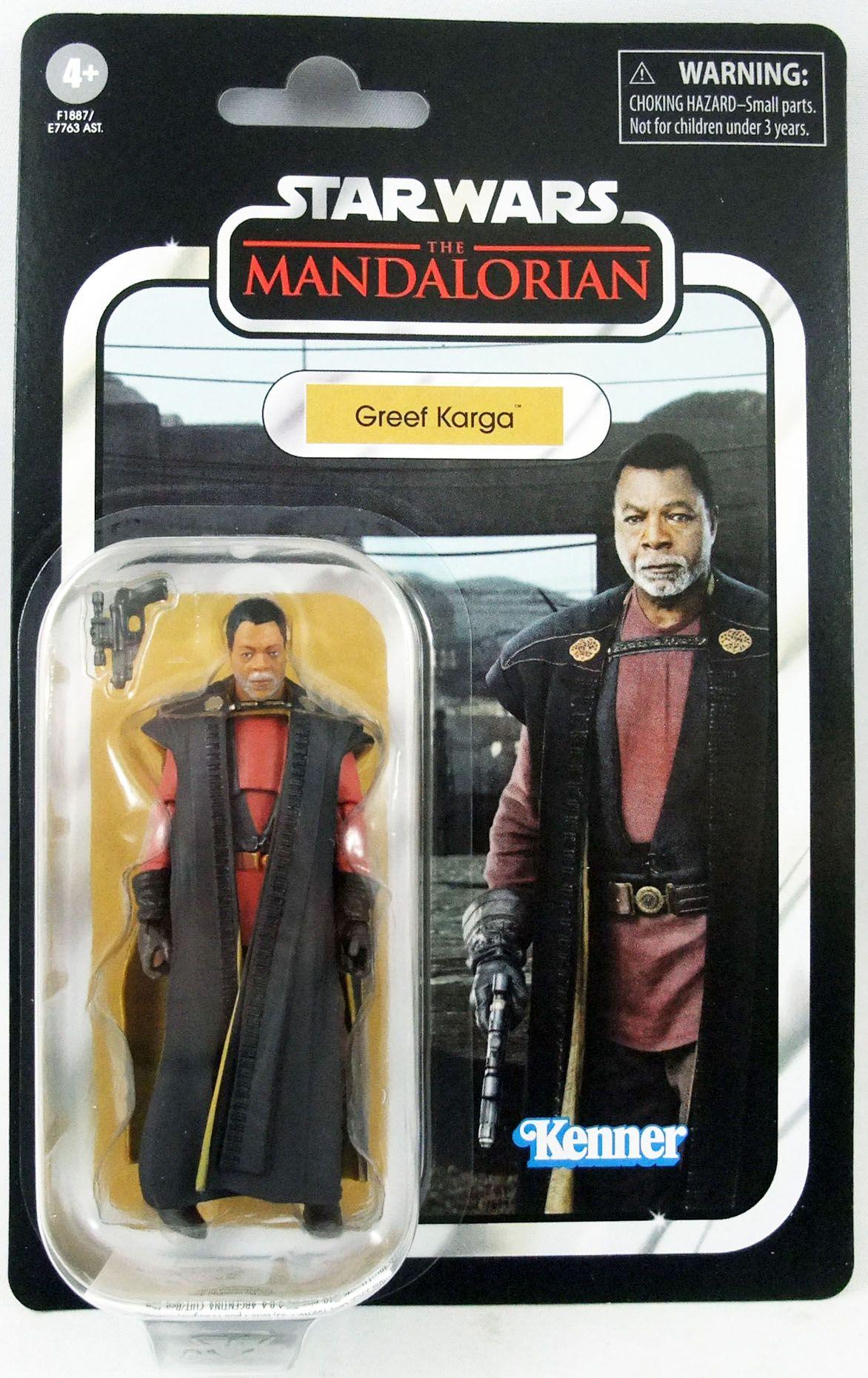 Star Wars (The Vintage Collection) - Hasbro - Greef Karga - The Mandalorian
