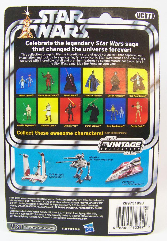Star Wars (The Vintage Collection) - Hasbro - Ratts Tyerell - The Phantom Menace