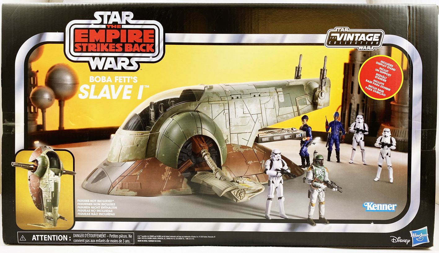 Star Wars The Vintage Collection Hasbro Slave 1 The Empire Strikes Back