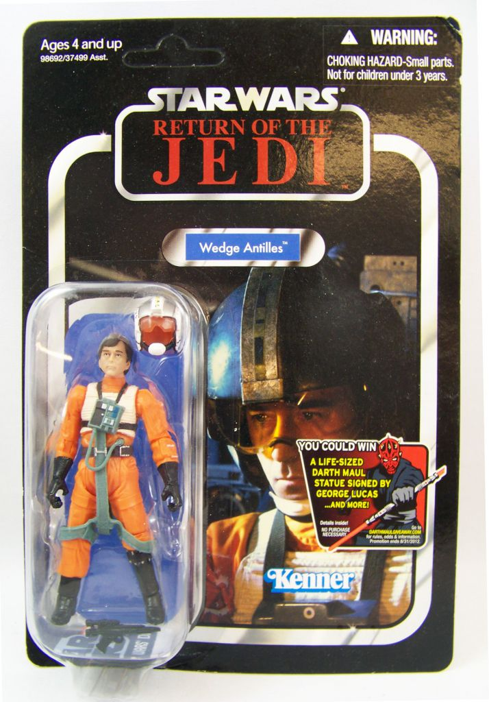 Star Wars (The Vintage Collection) - Hasbro - Wedge Antilles - Return of the Jedi