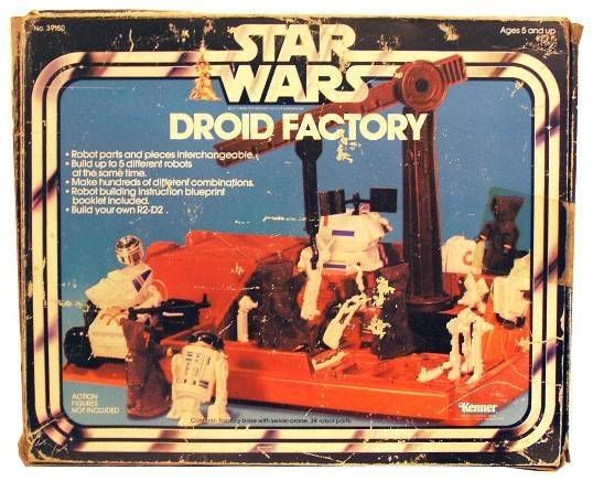 Star Wars 1978 - Droid Factory (Loose w/Box)