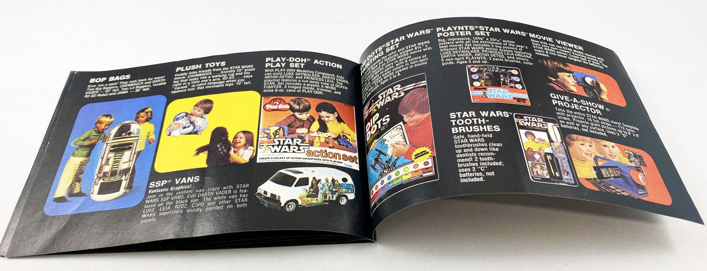 Star Wars 1979 - Kenner - Insert Booklet Catalog (Death Star)