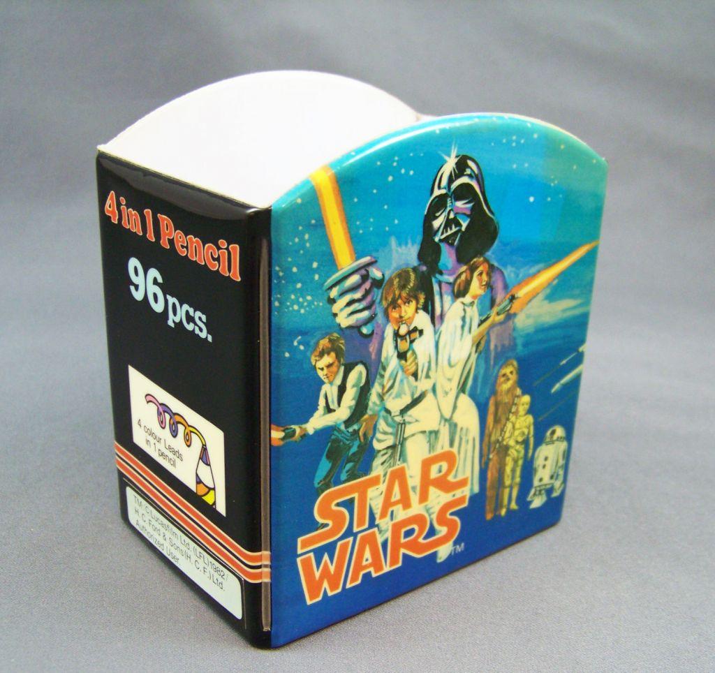 Star Wars 1982 - Présentoir à Crayons de Magasin H.C. Ford