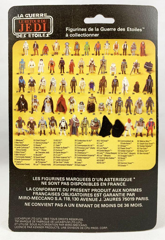 Star Wars 1983 - Meccano ROTJ 65back - Garde Royal de l\'Empereur (Emperor\'s Royal Guard)
