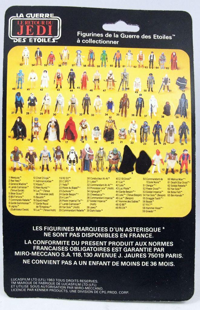 Star Wars 1983 - Meccano ROTJ 65back - Princesse Leia Costume Boushh (Leia in Boushh Disguise)