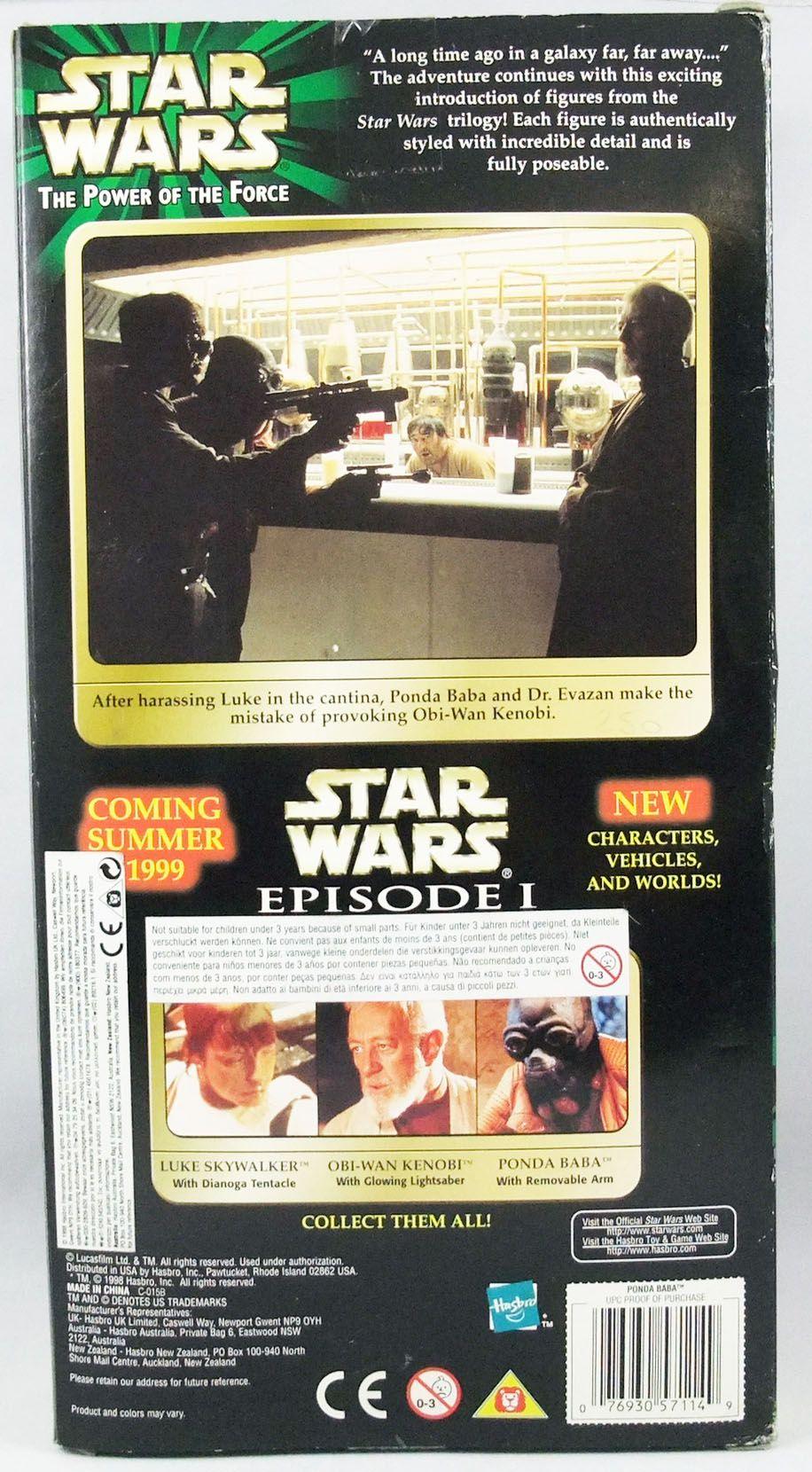 Star Wars Action Collection - Hasbro - Ponda Baba w/Removable  Arm