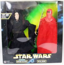 Star Wars Action Collection - Kenner - Emperor Palpatine (Electronic) & Royal Guard