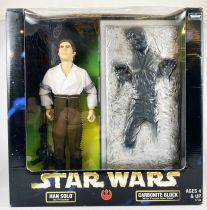 Star Wars Action Collection - Kenner - Han Solo & Carbonite Block