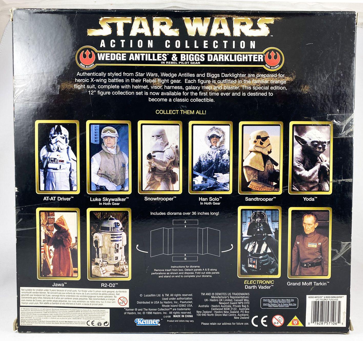 Star Wars Action Collection - Kenner - Wedge Antiles & Biggs Darklighter (in Rebel Gear)