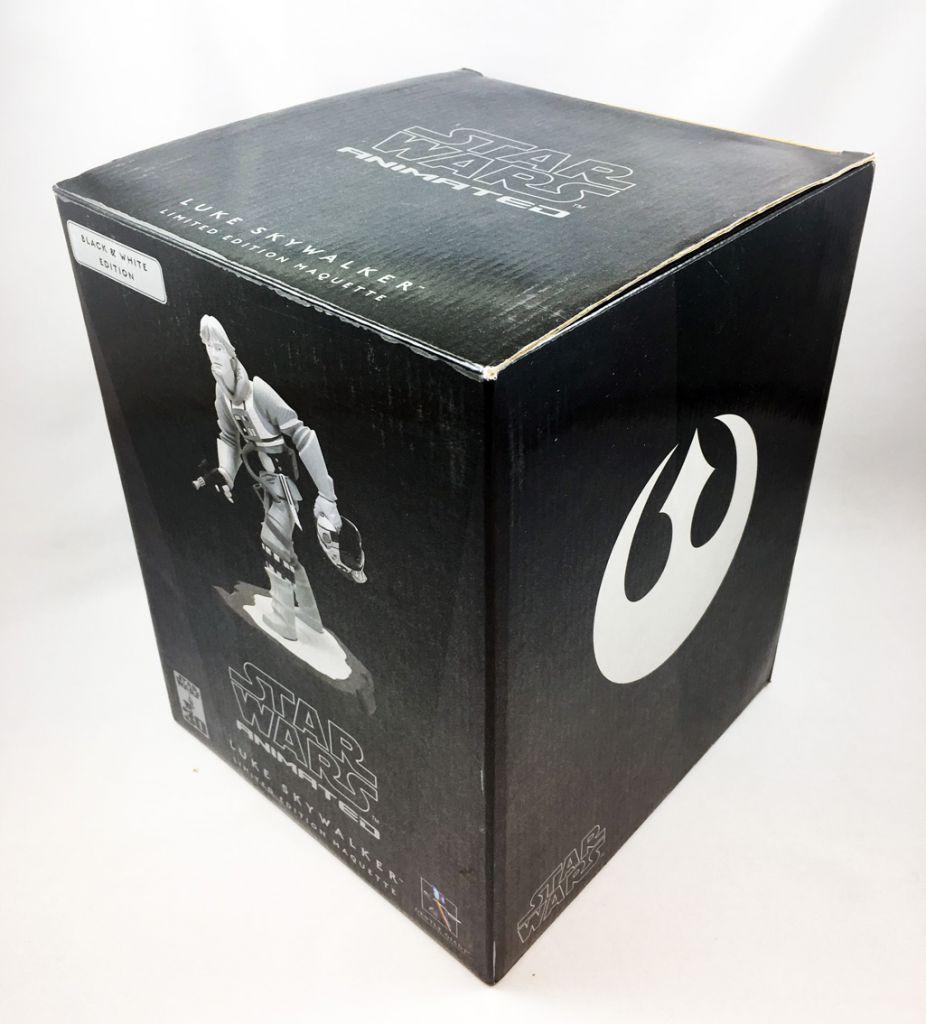 Star Wars Aniamted - Gentle Giant Maquette - Luke Skywalker (Balck & White Edition)