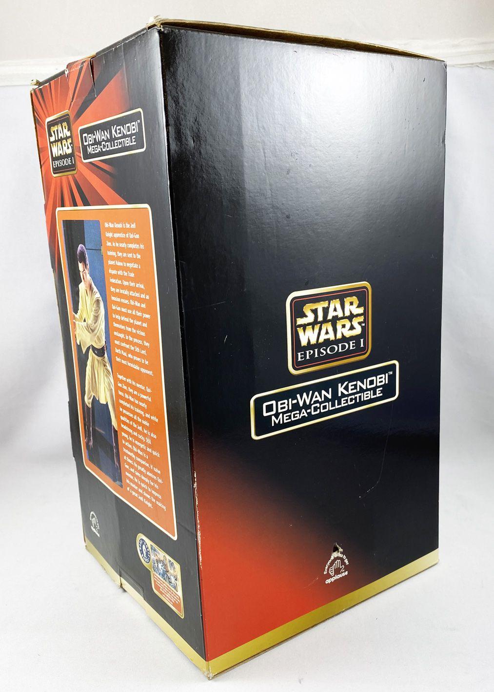Star Wars Episode 1 - Applause - Obi-Wan Kenobi Mega-Collectible