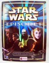 Star Wars Episode 1 - Sticker Album (collecteur de vignettes) - Merlin Collection 1999
