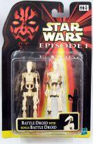 Star Wars Episode 1 (The Phantom Menace) - Hasbro - Battle Droid & Bonus Battle
