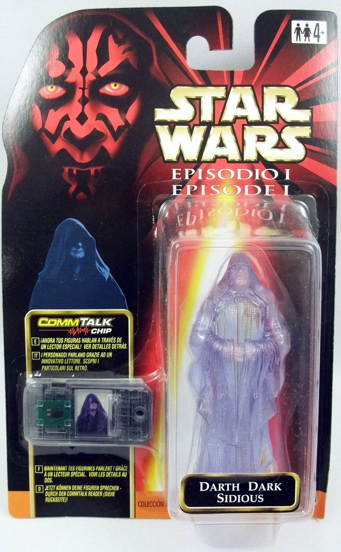 Star Wars Episode 1 (The Phantom Menace) - Hasbro - Darth Sidious Hologram