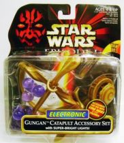Star Wars Episode 1 (The Phantom Menace) - Hasbro - Electronic Gungam Catapult  Accessory Set