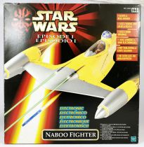 Star Wars Episode 1 (The Phantom Menace) - Hasbro - Electronic Naboo Fighter (Boite Euro)