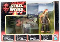 Star Wars Episode 1 (The Phantom Menace) - Hasbro - Gungan Assault Cannon with Jar-jar Binks