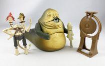 Star Wars Episode 1 (The Phantom Menace) - Hasbro - Jabba the Hutt & 2-Headed Announcer (occasion)