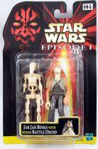 Star Wars Episode 1 (The Phantom Menace) - Hasbro - Jar Jar Binks & Bonus Battle Droid