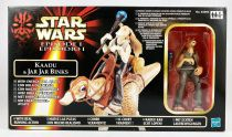 Star Wars Episode 1 (The Phantom Menace) - Hasbro - Kaadu & Jar Jar Binks (Euro Box)