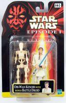 Star Wars Episode 1 (The Phantom Menace) - Hasbro - Obi-Wan Kenobi & Bonus Battle Droid