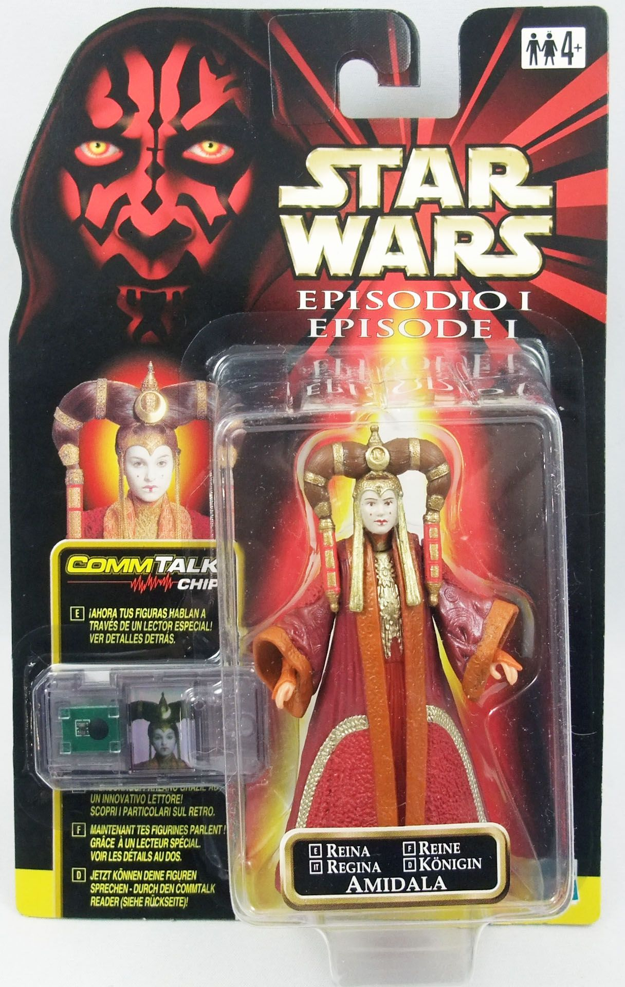 Star Wars Episode 1 (The Phantom Menace) - Hasbro - Queen Amidala (Coruscant)