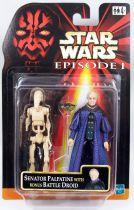 Star Wars Episode 1 (The Phantom Menace) - Hasbro - Senator Palpatine & Bonus Battle