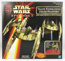 Star Wars Episode 1 (The Phantom Menace) - Hasbro - Trade Federation Droid Fighters